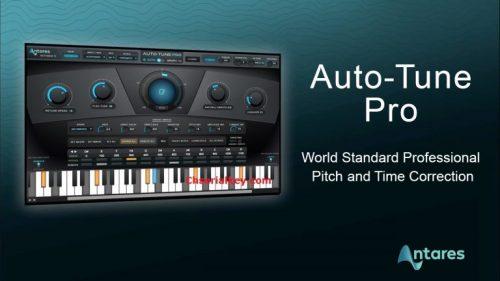 Antares AutoTune Pro 9.1.1 Crack {Latest Version} 100% Working
